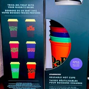 Starbucks Reusable Hot Cups - Halloween